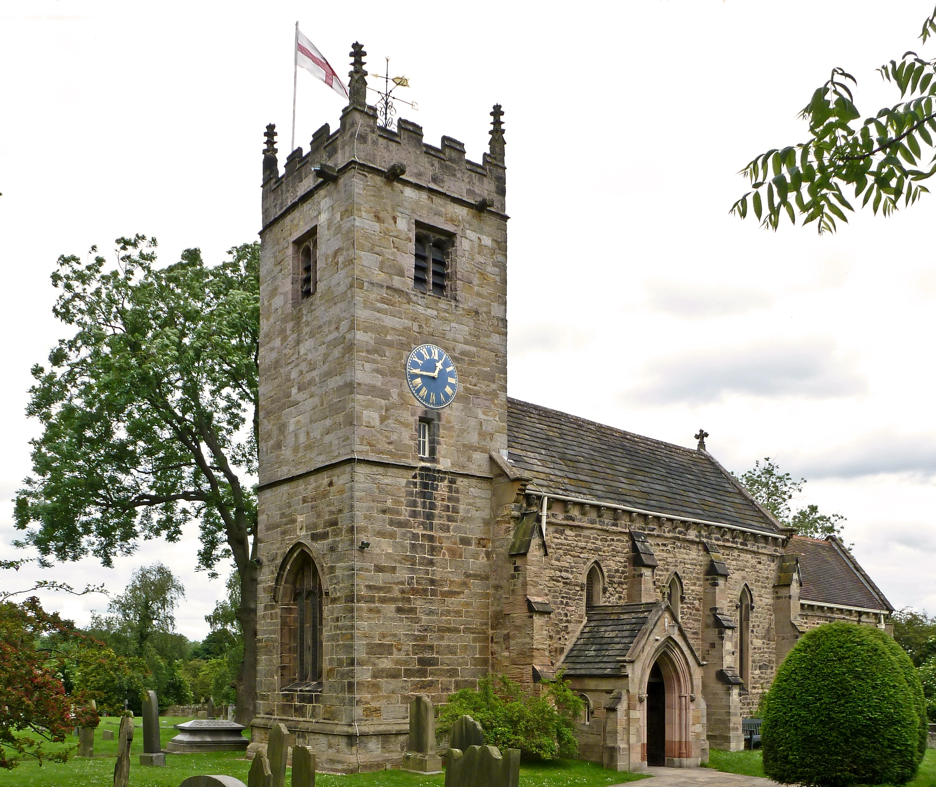 collingham church1 The Beauty of Collingham, West Yorkshire