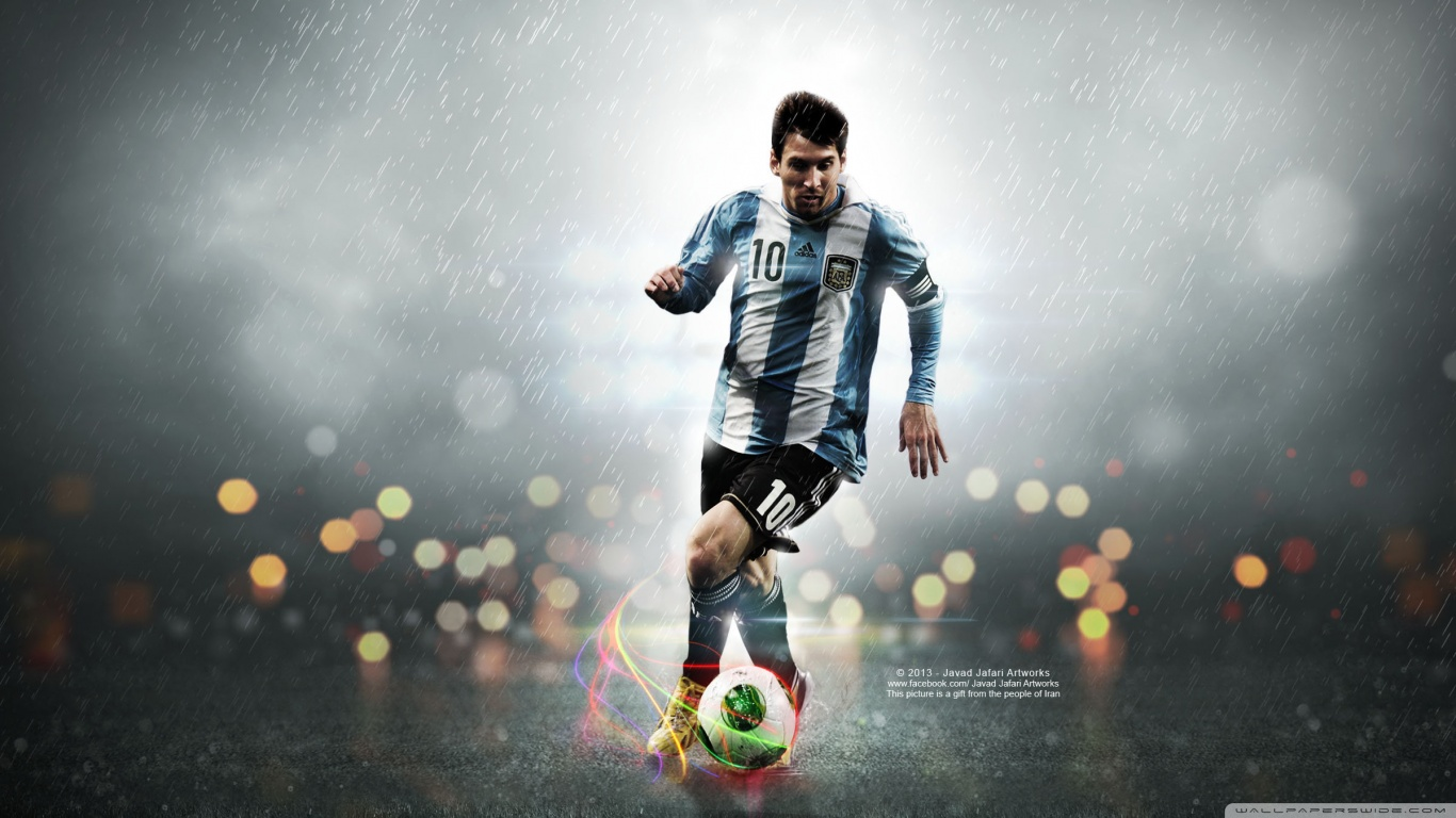 leo messi 10 wallpaper 1366x768 The Beauty of Collingham, West Yorkshire