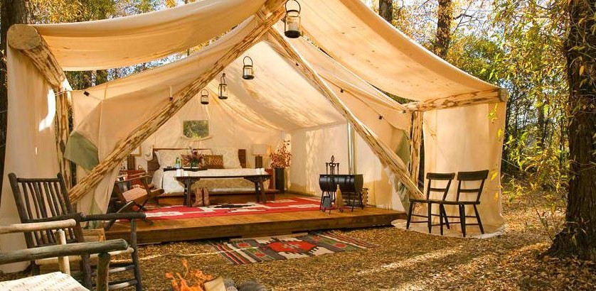 glamping The Rules of Glamping – 21st Century Camping Chic